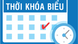 Thời khóa biểu Học kỳ II NH 2019-2020 (Từ ngày 11/05/2020 tất cả sinh viên học tập trung tại trường)